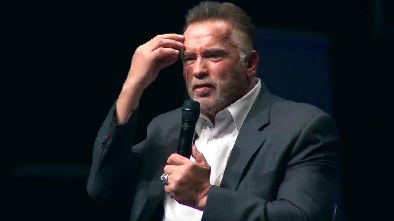 Arnold Schwarzenegger 2018 The Speech That Broke The